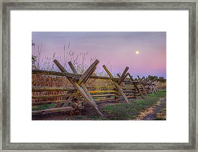 Usa, Washington State, Walla Walla Framed Print