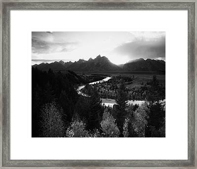 Usa, Wyoming, Grand Teton National Framed Print by Adam Jones