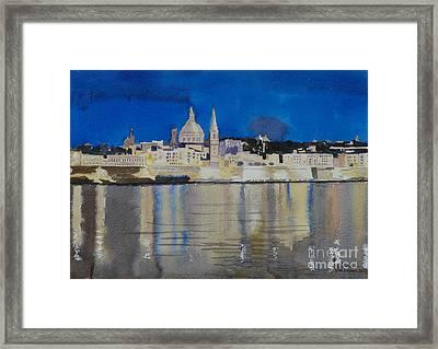 Valletta Malta Framed Print