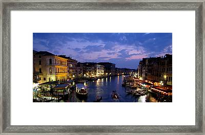 Venice Framed Print by Barbara Walsh