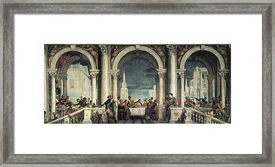 Veronese, Paolo Caliari, Called Paolo Framed Print