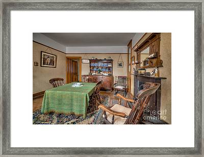 Victorian Cottage  Framed Print by Adrian Evans