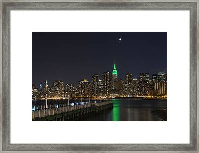 View From Gantry Plaza State Park Framed Print