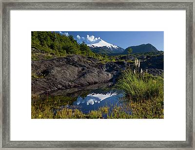 Villarrica National Park, Chile Framed Print