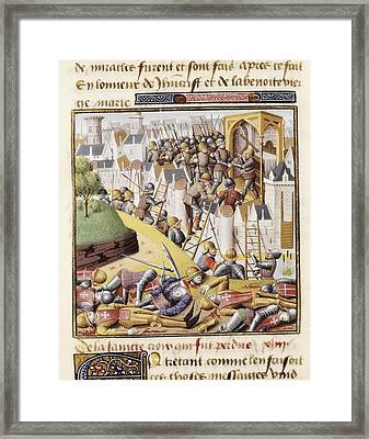 Vincent Of Beauvais 1190-1264. Speculum Framed Print by Everett