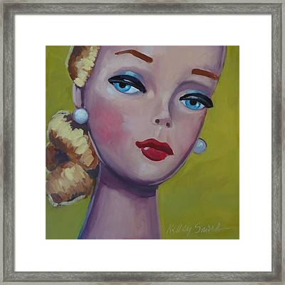 Vintage Toy Series Framed Print by Kelley Smith