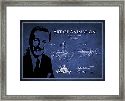 Walt Disney Patent From 1936 Framed Print