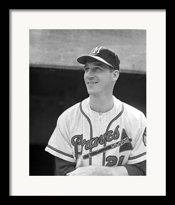 Classic Baseball Players Framed Prints