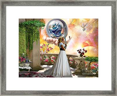 Warrior Bride Framed Print
