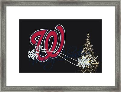 Washington Nationals Framed Print by Joe Hamilton
