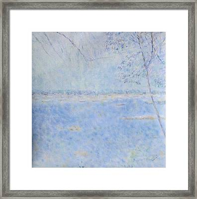 Water Of Les Iles De Lerins France Framed Print