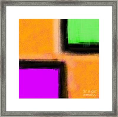 3 Way Framed Print by James Eye