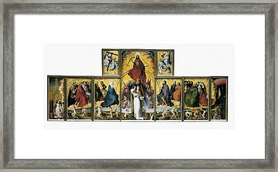 Weyden, Rogier Van Der  1400-1464. The Framed Print by Everett