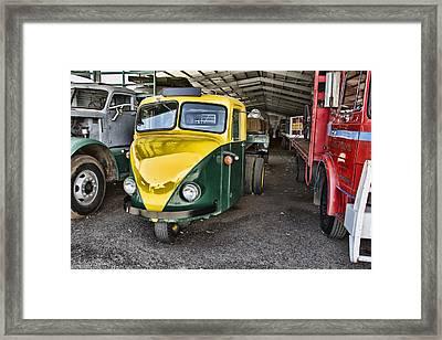 3 Wheeler Truck Framed Print by Douglas Barnard
