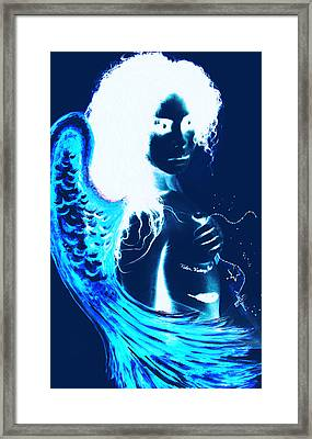 When Heaven And Earth Collide 1 Framed Print