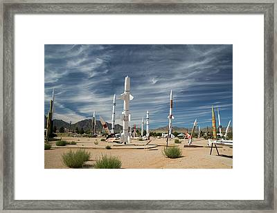 White Sands Missile Range Museum Framed Print by Jim West