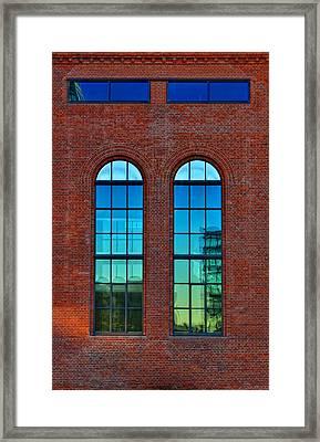 Windows Framed Print by Kent Mathiesen