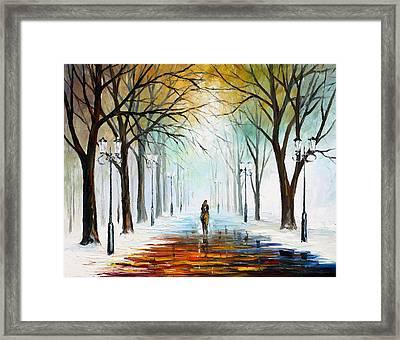 Winter Mood Framed Print