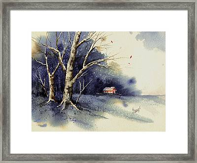 Winter Tree Framed Print by Sam Sidders