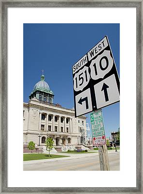 Wisconsin, Manitowoc Framed Print by Cindy Miller Hopkins