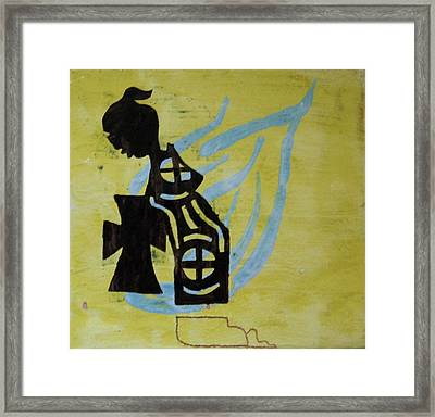 Wise Virgin Framed Print by Gloria Ssali