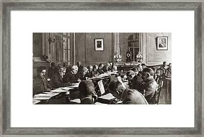 World War I Armistice Framed Print by Granger