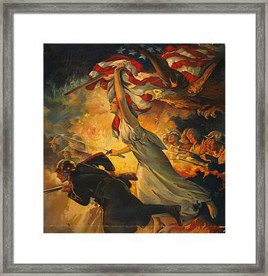 World War I Poster, C1918 Framed Print by Granger