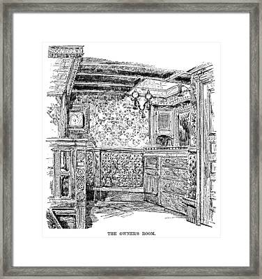Yachting, 1882 Framed Print