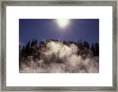 Yellowstone National Park. Framed Print by Retro Images Archive
