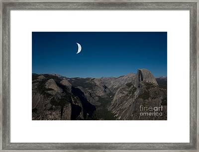 Yosemite National Park Framed Print by Mark Newman