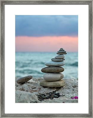 Zen Framed Print by Stelios Kleanthous