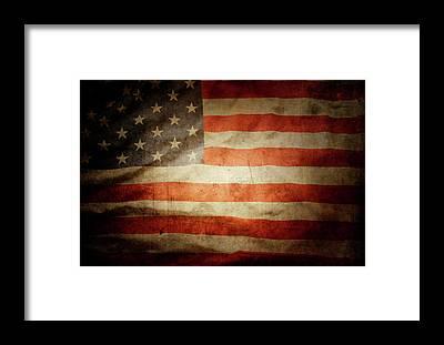 National Flag Framed Prints