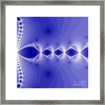 Fantasy Fractal Framed Print