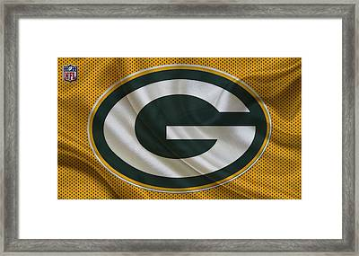 Green Bay Packers Framed Print by Joe Hamilton