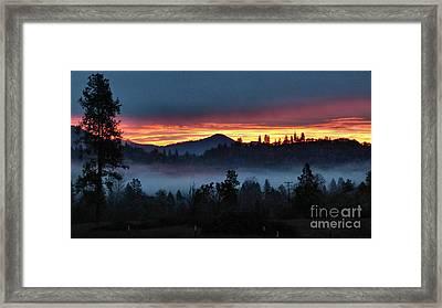 30 Min Before Sunrise Framed Print