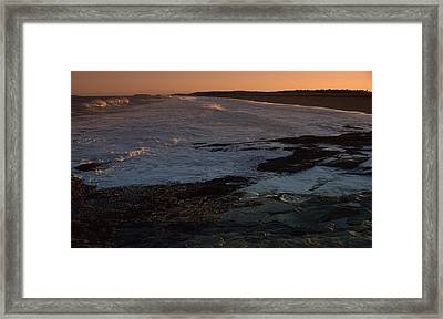 p Framed Print by Reid Albee