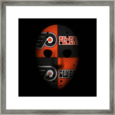 Philadelphia Flyers Framed Print by Joe Hamilton
