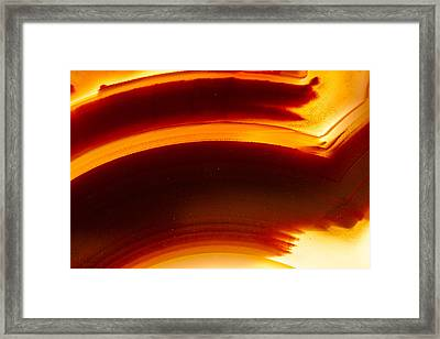 Rock Star Framed Print by Jean Noren