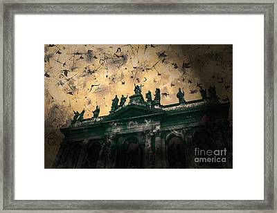 San Giovanni In Laterano Church Rome Italy Framed Print by Marina McLain
