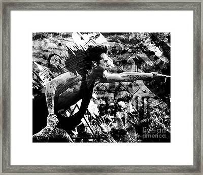 30 Seconds To Mars - Jared Leto Framed Print