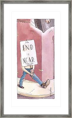 New Yorker March 17th, 2003 Framed Print