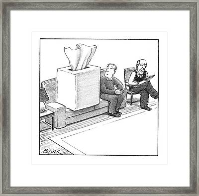 New Yorker March 24th, 2008 Framed Print