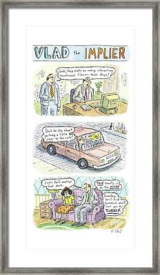 New Yorker May 19th, 2008 Framed Print