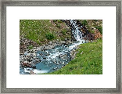 Usa, Colorado, San Juan Mountains Framed Print