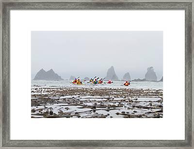 Usa, Washington State Framed Print