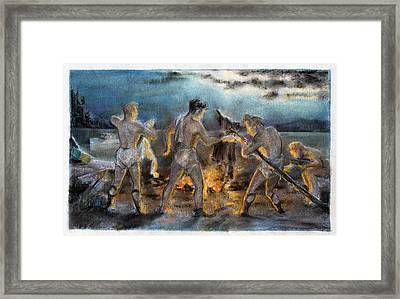 Beelzebub Framed Print by Robert Poole