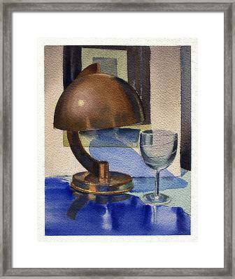 Still Study 2 Framed Print