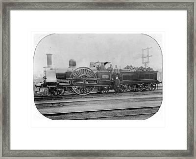 3020 Cornwall Train 1890 Framed Print