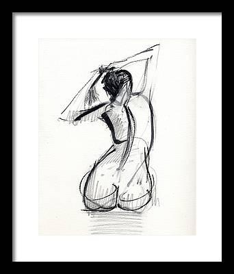 Nudes Framed Prints