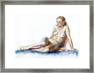 Blue Velvet Framed Print by Robert Poole
